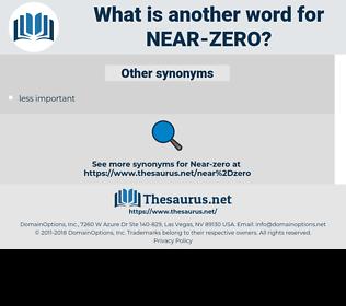 near-zero, synonym near-zero, another word for near-zero, words like near-zero, thesaurus near-zero
