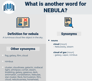 nebula, synonym nebula, another word for nebula, words like nebula, thesaurus nebula