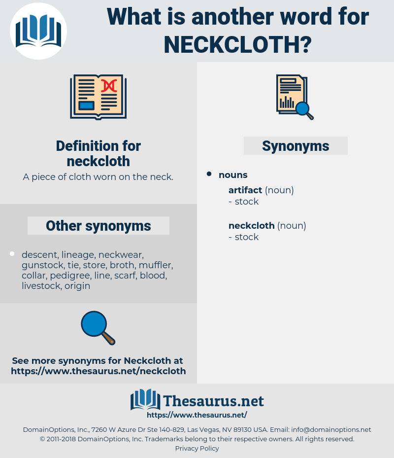 neckcloth, synonym neckcloth, another word for neckcloth, words like neckcloth, thesaurus neckcloth