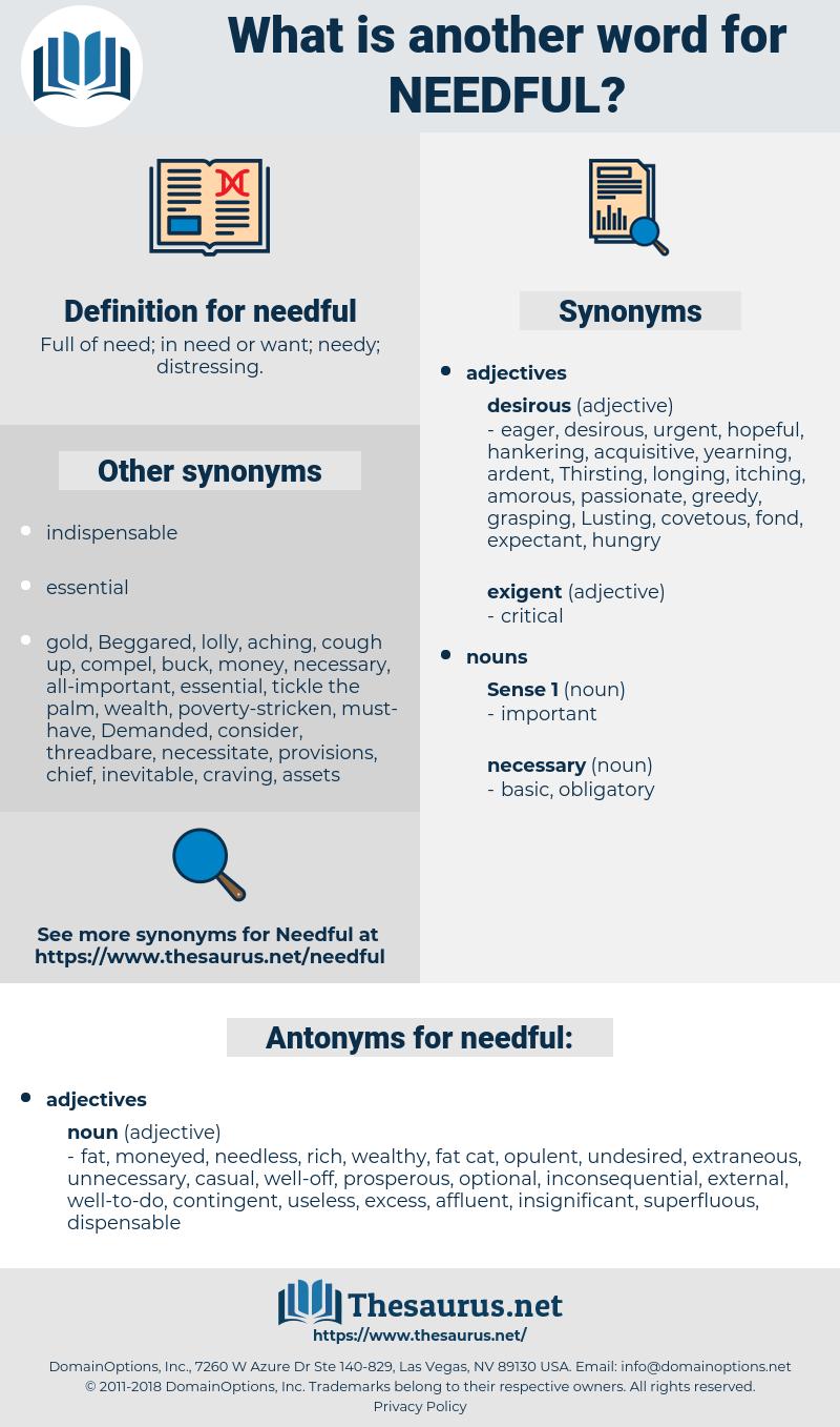 needful, synonym needful, another word for needful, words like needful, thesaurus needful