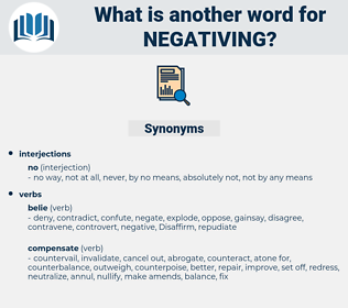 Negativing, synonym Negativing, another word for Negativing, words like Negativing, thesaurus Negativing