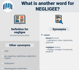 Define neglige