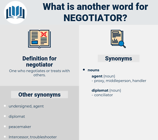 negotiator, synonym negotiator, another word for negotiator, words like negotiator, thesaurus negotiator