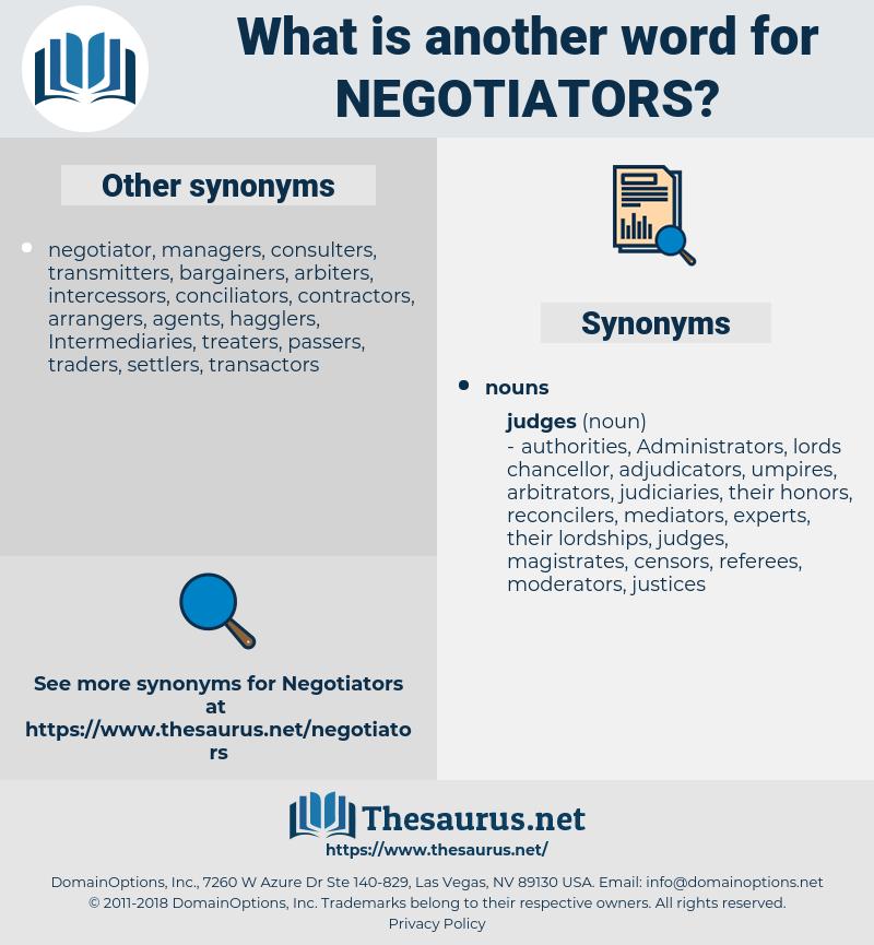 negotiators, synonym negotiators, another word for negotiators, words like negotiators, thesaurus negotiators