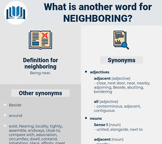 neighboring, synonym neighboring, another word for neighboring, words like neighboring, thesaurus neighboring