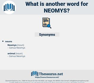 neomys, synonym neomys, another word for neomys, words like neomys, thesaurus neomys