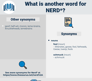 nerd, synonym nerd, another word for nerd, words like nerd, thesaurus nerd