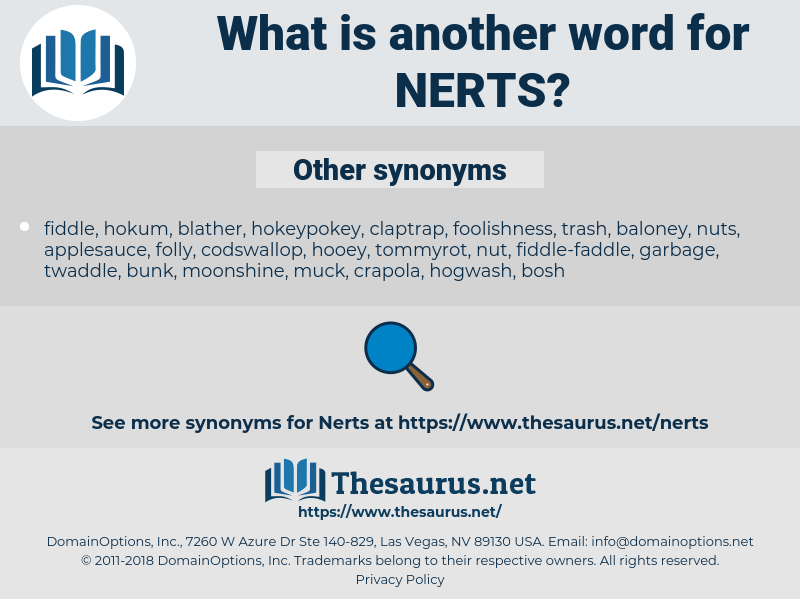 nerts, synonym nerts, another word for nerts, words like nerts, thesaurus nerts