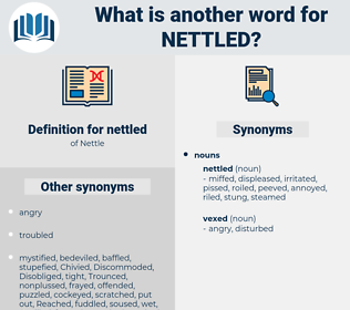 nettled, synonym nettled, another word for nettled, words like nettled, thesaurus nettled