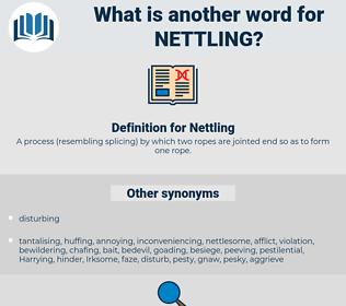Nettling, synonym Nettling, another word for Nettling, words like Nettling, thesaurus Nettling