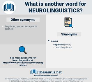neurolinguistics, synonym neurolinguistics, another word for neurolinguistics, words like neurolinguistics, thesaurus neurolinguistics