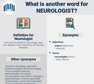 Neurologist, synonym Neurologist, another word for Neurologist, words like Neurologist, thesaurus Neurologist