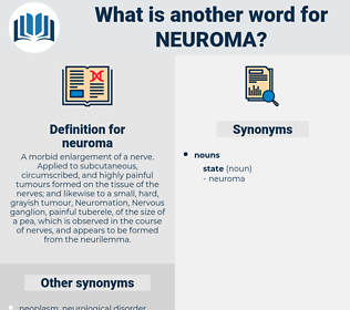 neuroma, synonym neuroma, another word for neuroma, words like neuroma, thesaurus neuroma