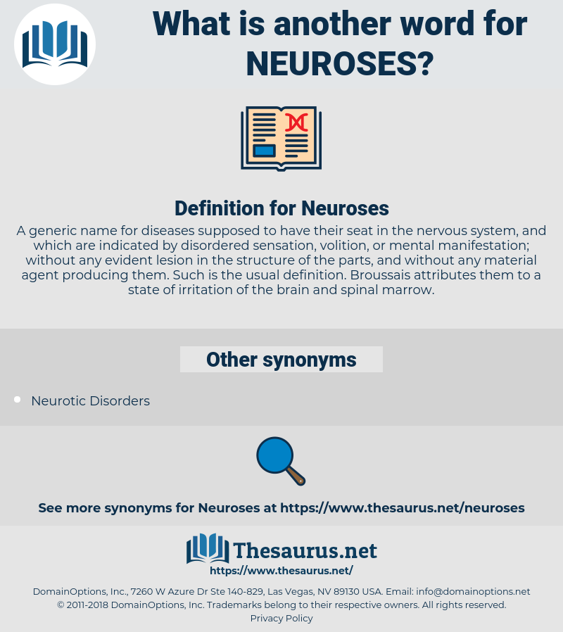 Neuroses, synonym Neuroses, another word for Neuroses, words like Neuroses, thesaurus Neuroses