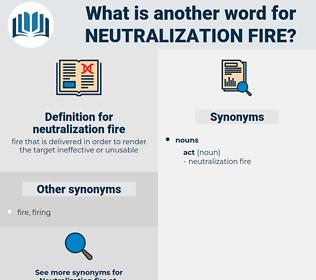 neutralization fire, synonym neutralization fire, another word for neutralization fire, words like neutralization fire, thesaurus neutralization fire