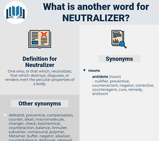 Neutralizer, synonym Neutralizer, another word for Neutralizer, words like Neutralizer, thesaurus Neutralizer