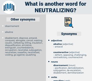Neutralizing, synonym Neutralizing, another word for Neutralizing, words like Neutralizing, thesaurus Neutralizing