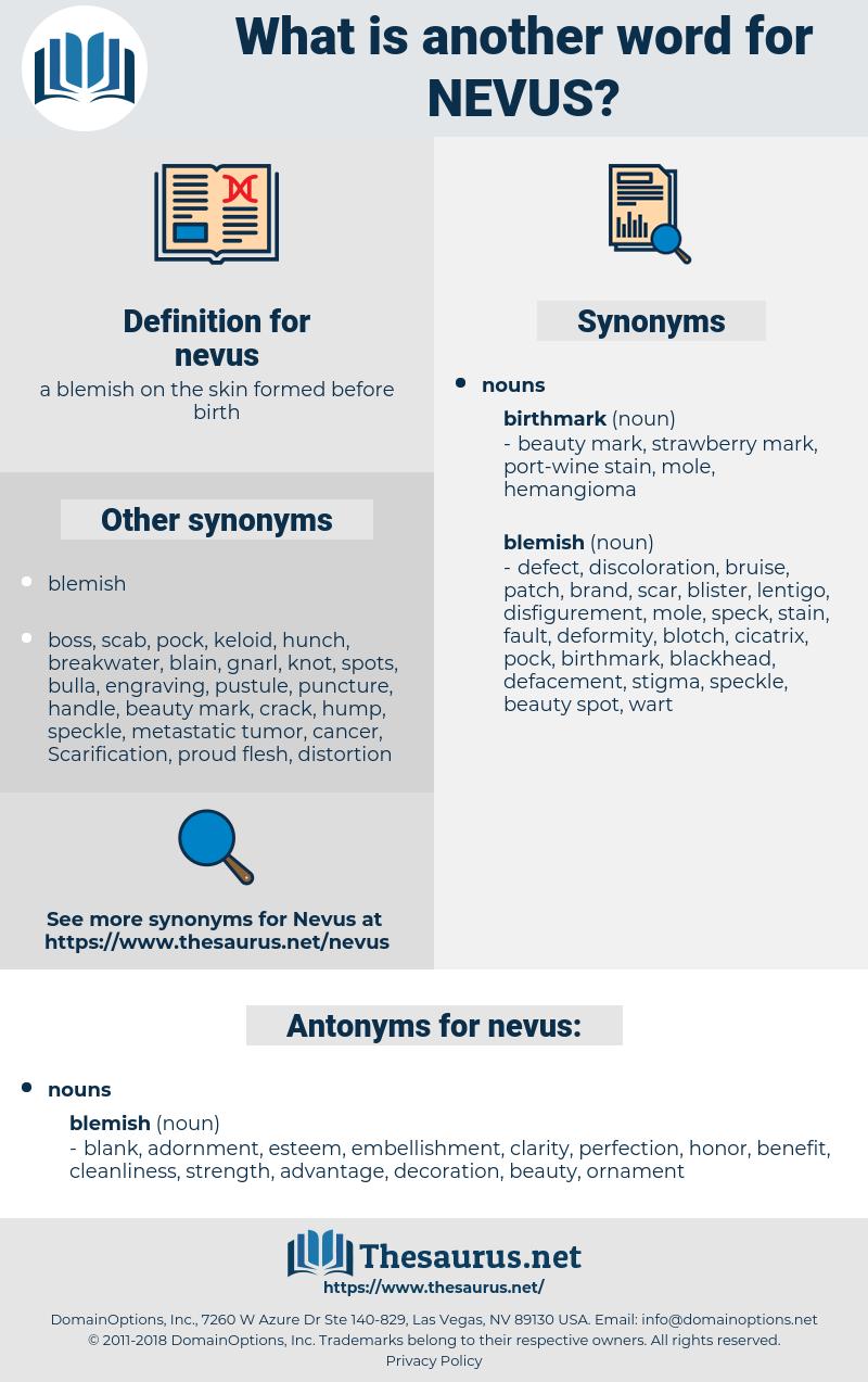 nevus, synonym nevus, another word for nevus, words like nevus, thesaurus nevus
