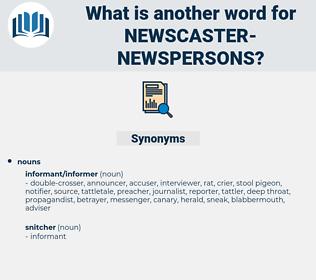 newscaster-newspersons, synonym newscaster-newspersons, another word for newscaster-newspersons, words like newscaster-newspersons, thesaurus newscaster-newspersons