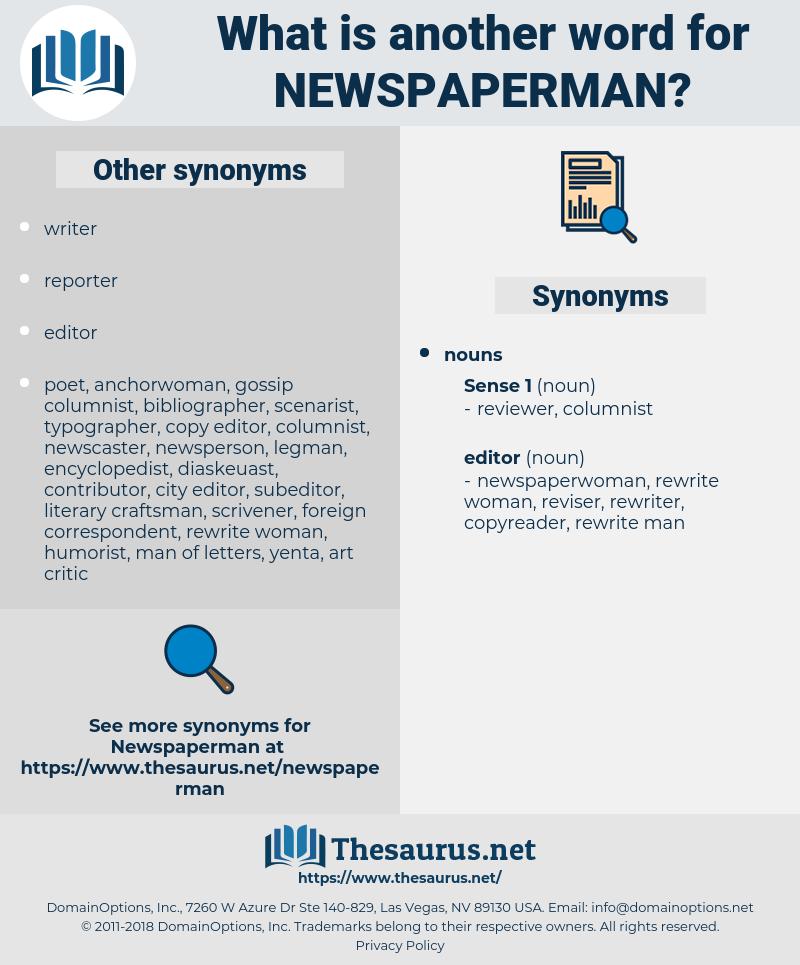 newspaperman, synonym newspaperman, another word for newspaperman, words like newspaperman, thesaurus newspaperman