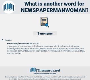 newspapermanwoman, synonym newspapermanwoman, another word for newspapermanwoman, words like newspapermanwoman, thesaurus newspapermanwoman