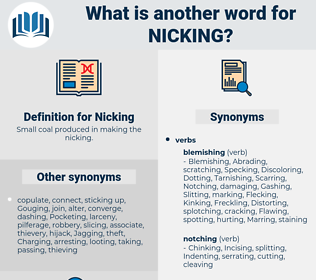 Nicking, synonym Nicking, another word for Nicking, words like Nicking, thesaurus Nicking