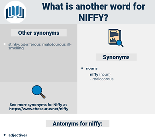 niffy, synonym niffy, another word for niffy, words like niffy, thesaurus niffy