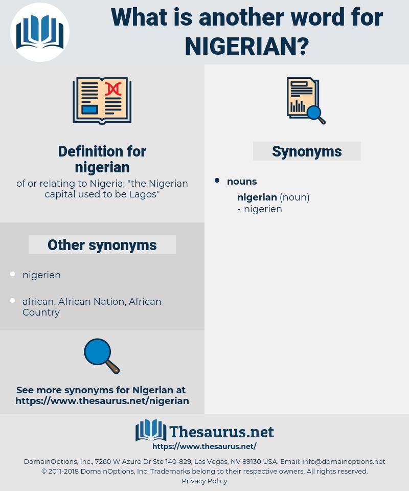 nigerian, synonym nigerian, another word for nigerian, words like nigerian, thesaurus nigerian