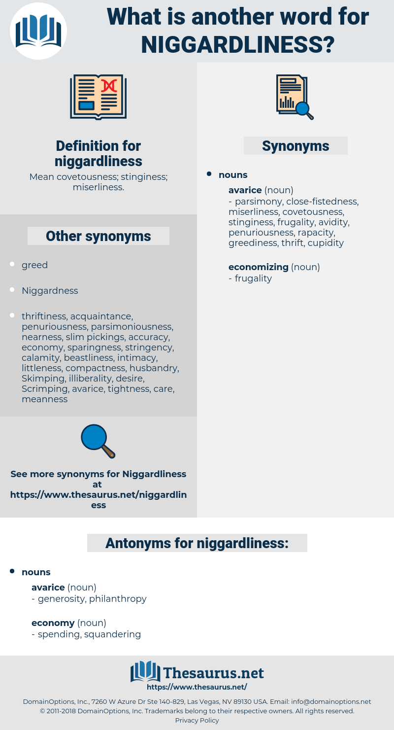 niggardliness, synonym niggardliness, another word for niggardliness, words like niggardliness, thesaurus niggardliness