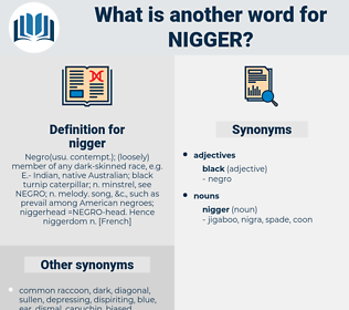 nigger, synonym nigger, another word for nigger, words like nigger, thesaurus nigger