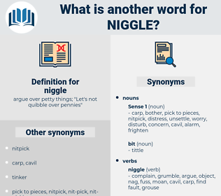 niggle, synonym niggle, another word for niggle, words like niggle, thesaurus niggle