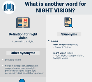 night vision, synonym night vision, another word for night vision, words like night vision, thesaurus night vision