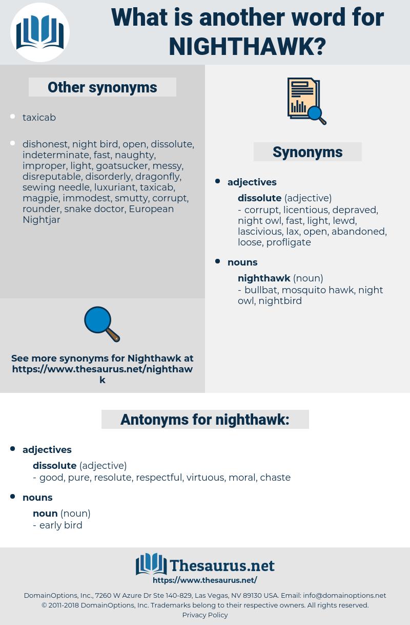 nighthawk, synonym nighthawk, another word for nighthawk, words like nighthawk, thesaurus nighthawk