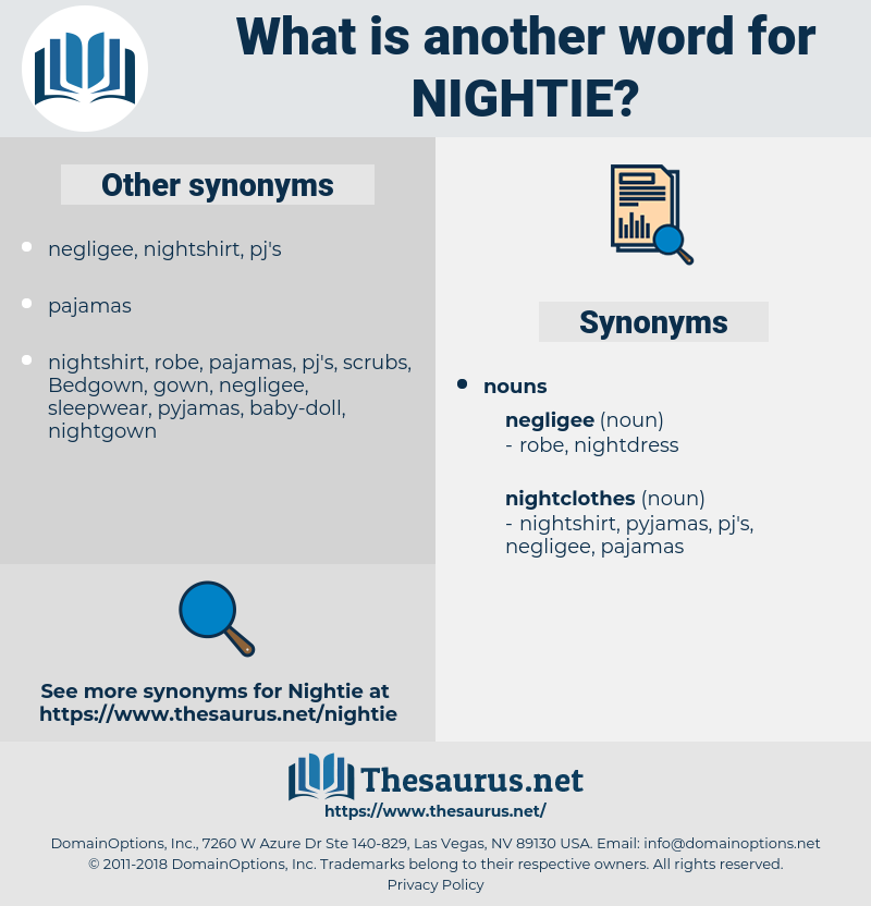 Synonyms for NIGHTIE - Thesaurus.net 5187ad339d32