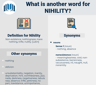Nihility, synonym Nihility, another word for Nihility, words like Nihility, thesaurus Nihility