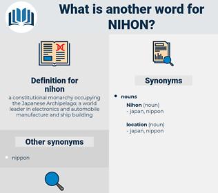 nihon, synonym nihon, another word for nihon, words like nihon, thesaurus nihon