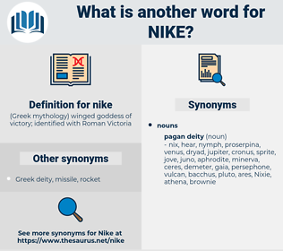 nike, synonym nike, another word for nike, words like nike, thesaurus nike