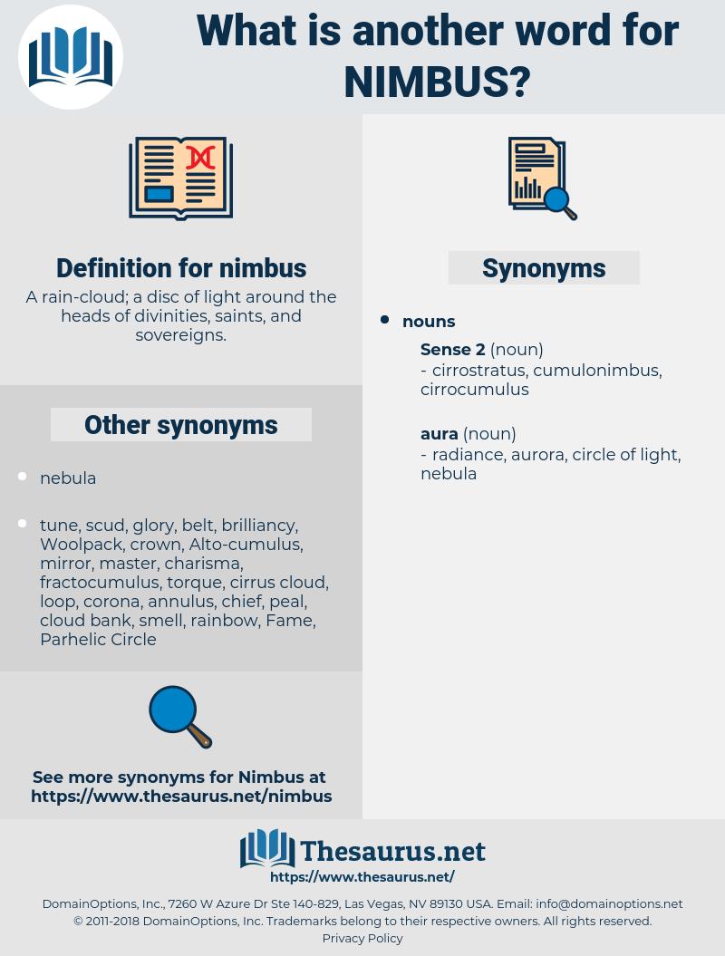 nimbus, synonym nimbus, another word for nimbus, words like nimbus, thesaurus nimbus