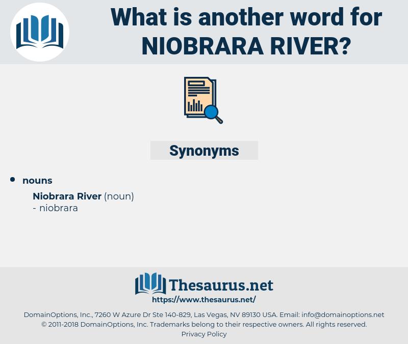 Niobrara River, synonym Niobrara River, another word for Niobrara River, words like Niobrara River, thesaurus Niobrara River