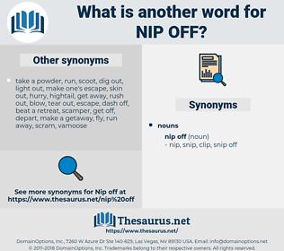 nip off, synonym nip off, another word for nip off, words like nip off, thesaurus nip off