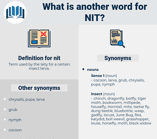nit, synonym nit, another word for nit, words like nit, thesaurus nit