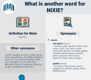 Nixie, synonym Nixie, another word for Nixie, words like Nixie, thesaurus Nixie