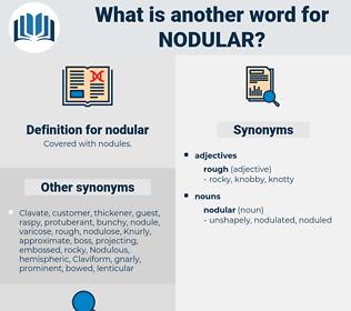 nodular, synonym nodular, another word for nodular, words like nodular, thesaurus nodular