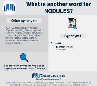 nodules, synonym nodules, another word for nodules, words like nodules, thesaurus nodules