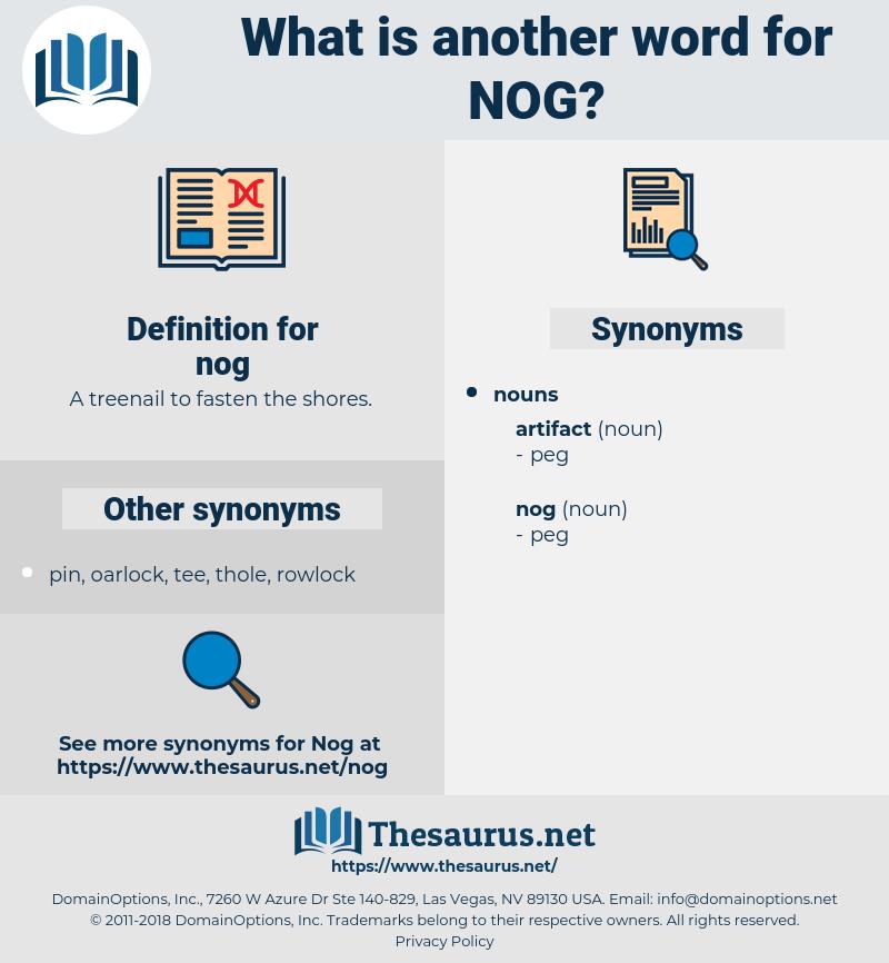 nog, synonym nog, another word for nog, words like nog, thesaurus nog