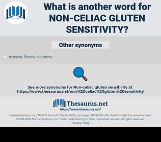 non-celiac gluten sensitivity, synonym non-celiac gluten sensitivity, another word for non-celiac gluten sensitivity, words like non-celiac gluten sensitivity, thesaurus non-celiac gluten sensitivity