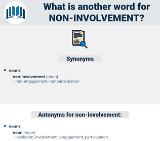 non involvement, synonym non involvement, another word for non involvement, words like non involvement, thesaurus non involvement