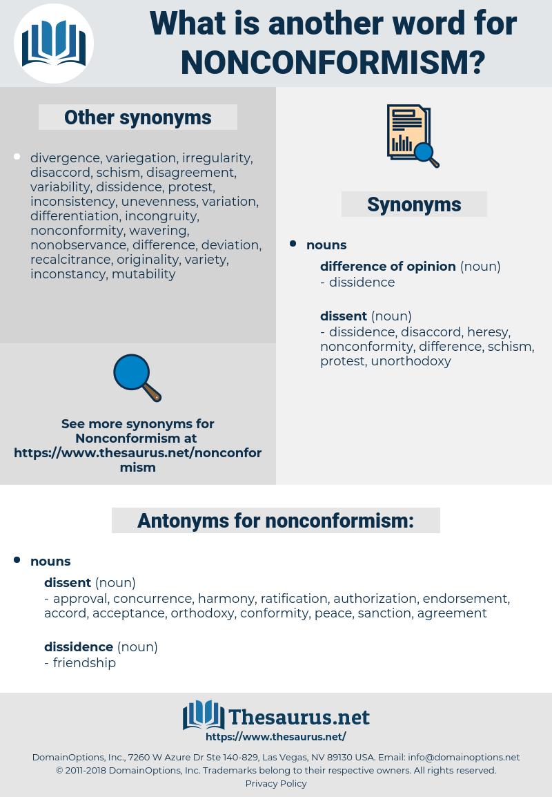 nonconformism, synonym nonconformism, another word for nonconformism, words like nonconformism, thesaurus nonconformism