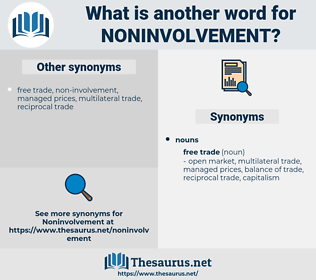 noninvolvement, synonym noninvolvement, another word for noninvolvement, words like noninvolvement, thesaurus noninvolvement
