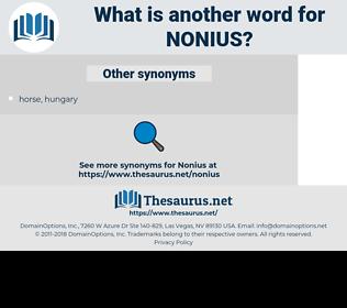 Nonius, synonym Nonius, another word for Nonius, words like Nonius, thesaurus Nonius